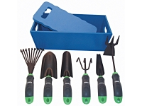 7PCS GARDENING TOOL SET PACKED IN WOODEN CASE KC-GT078